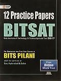 BITSAT 12 Practice Papers Paperback