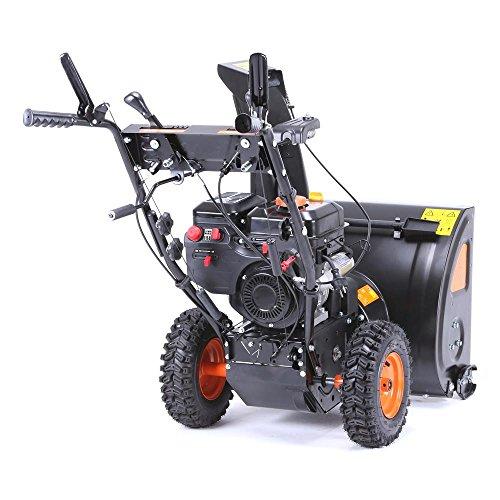 FUXTEC Benzin Schneefräse SF210 7,5 PS 230 Volt E-Starter Schneeräumgeräte - 8