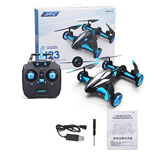 iUcar JJRC H23 2.4g 4CH 6-Axis Gyro Air-Indorse Car Flying RC Drone RTF Quadcopter