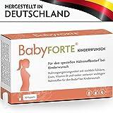 BabyFORTE Kinderwunsch • 30 Kapseln • 800 mcg Folsäure, Eisen, Vitamin D & mehr • Kinderwunsch Vitamine Frau • Vegan