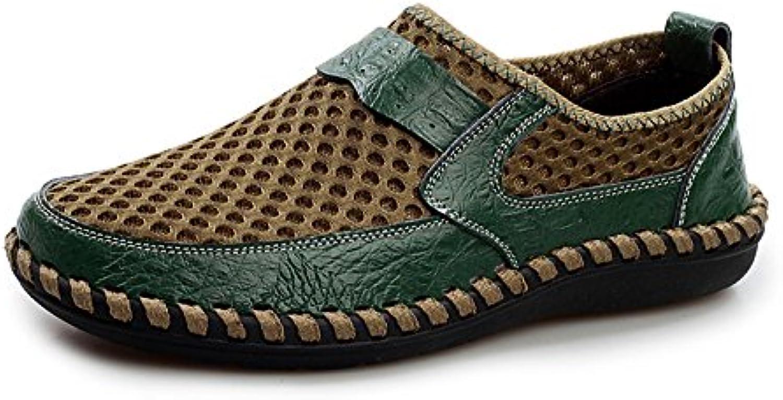 AgeeMi Shoes Herren Slip On Rund Zehe Leichte Turnschuhe Casual Schuhe