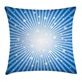 Best Chaises Office Star Patio - OQUYCZ Vintage Blue Throw Pillow Cushion Cover, Concentric Review