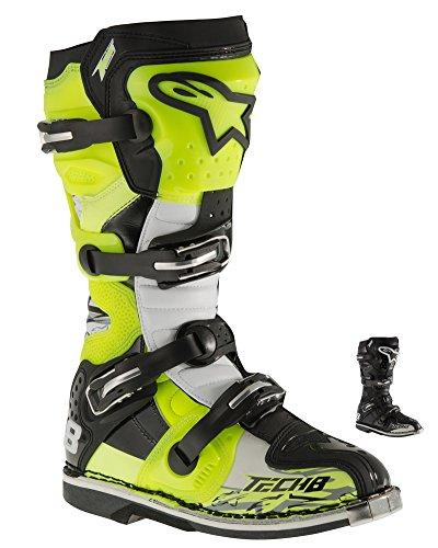 Alpinestars Bottes de motocross Tech 8RS Noir Jaune