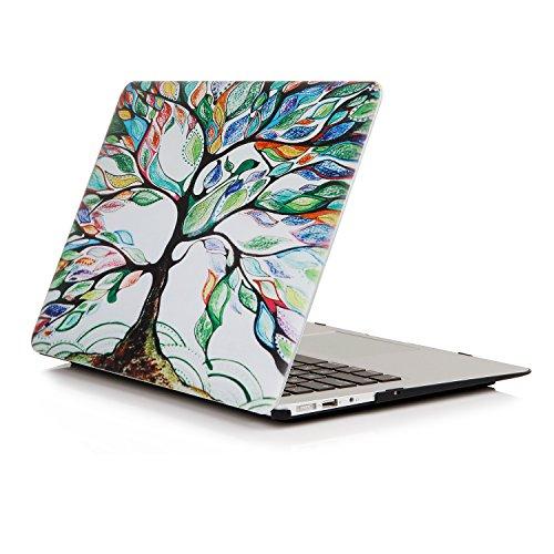 Ein Micron MacBook Pro 13-Zoll-Gehäuse, ultraflaches, beschichtetes Cover zum Aufschnappen Leichtes Schutzgehäuse Buntes MacBook Pro 13 '' (A1706/A1708), Love Tree (13-zoll-fall Macbook Pro 2010)