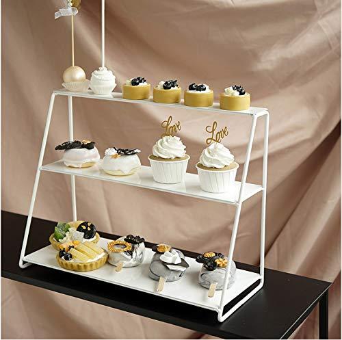 Lagerregale Dekorieren Tools Für Hochzeit Dessert Tisch Dekoration Parfüm Display Grün Pflanzen 3 Ebenen A -