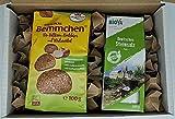 Brot und Salz Geschenk Set zum Einzug - Salz und Brot Geschenkbox zur Hochzeit mit ausführlicher Beschreibung zur Tradition Brot + Salz zu schenken