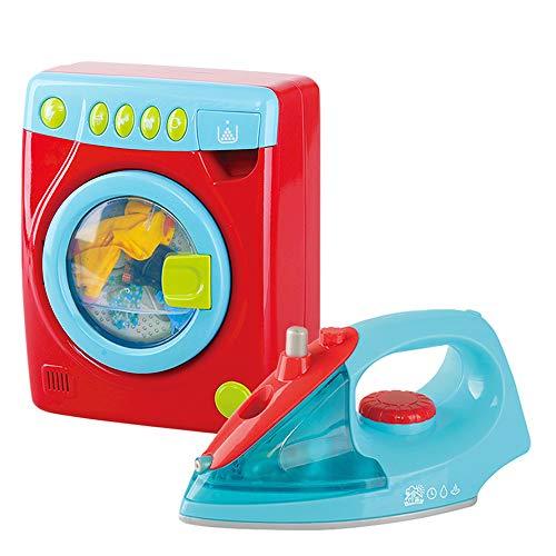 PlayGo - Set plancha lavadora eléctrica ColorBaby