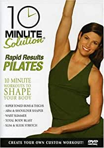 10 Minute Solution: Rapid Results Pilates [DVD] [2006] [Region 1] [US Import] [NTSC]