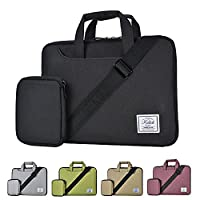 KALIDI 11 Inch Shoulder Carry Bag for 10 inch to 11 inch Laptop Notebook Black