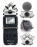 Recorder Zoom H5Set Profi/winddicht/Capsule MSH-6und XYH-6