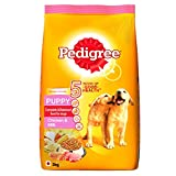 #9: Pedigree Dry Dog Food, Chicken & Milk for Puppy – 3 kg