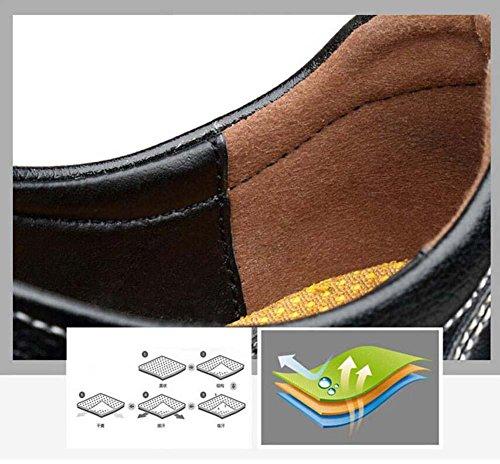 Onfly Pumpe Loafer Schlüpfen Leder Lässige Schuhe Pedal Schuhe Männer Mode Pure Farbe Gummiband Anti-Rutsch Weiche Sohle Lazy Schuhe Fahrschuhe Eu Größe 38-44 Blue