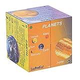ZooBooKoo Planetas educativos Solar Sistema de Estad?sticas Cubebook - sof?-Cube