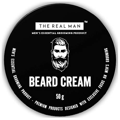 Crema hidratante para barba The Real Man