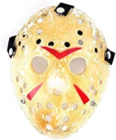 Edealing 1PCS oro dell'annata Jason Voorhees Freddy Hockey Festival di travestimento di Halloween del partito di...