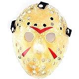 Edealing Máscara 1PCS oro de la vendimia Voorhees Freddy Hockey Festival partido de la mascarada de Halloween Jason