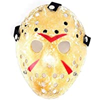 edealing 1PCS Vintage Jason Voorhees Freddy Hockey Festival Halloween Masquerade Party Mask