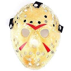 Idea Regalo - Edealing 1PCS oro dell'annata Jason Voorhees Freddy Hockey Festival di travestimento di Halloween del partito di travestimento