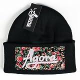 Agora Floral Beanie Mütze