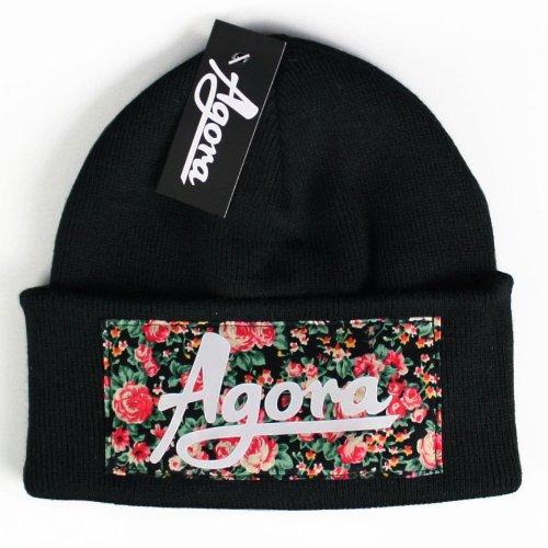 Agora-Floral-Beanie-Mtze