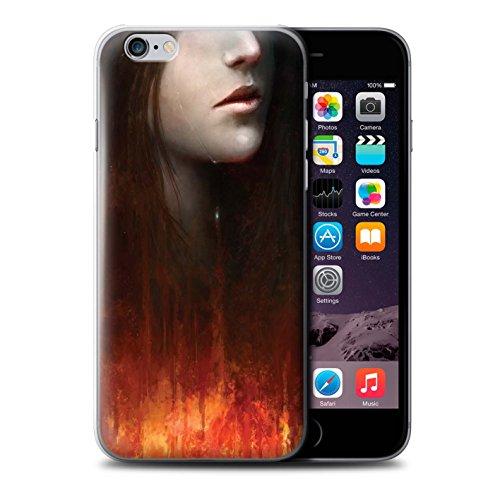 Offiziell Chris Cold Hülle / Case für Apple iPhone 6S+/Plus / Gift Haupt Muster / Gefallene Erde Kollektion Tränen der Eva
