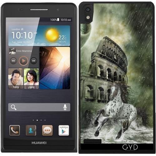 Custodia in silicone per Huawei Ascend P6 - La Fuga