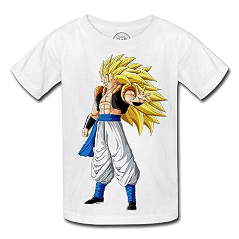 T-shirt Enfant Dragon Ball Z anime manga japan fusion gogeta