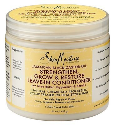 Shea Moisture Leave In Conditioner (Jamaican Black Castor Oil Strengthen & Restore Leave-In Conditioner by Shea Moisture)