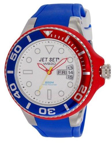 Jet Set Men's Watch Wb30Diver Analogue Quartz Rubber J5522325