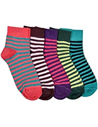 Marc Jacob Boy's and Girl's Cotton Socks (2553_46_2, Multicolour, 3-7 Years)