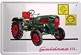 Blechschild Traktor Schlepper Güldner A2K Oldtimer 20 x 30 cm Reklame Retro Blech 758