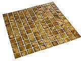 Perlmutt Mosaik Fliesen Braun 2,5 x 2,5 cm