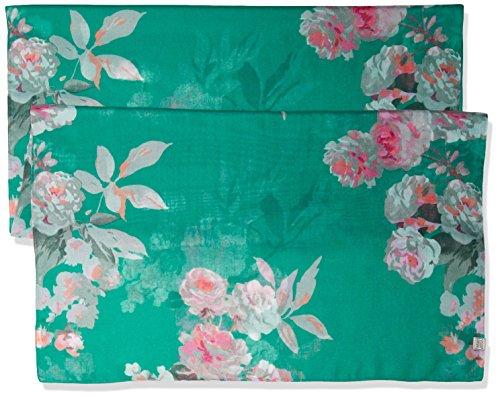 Joules Wensley, Echarpe Femme, Gris Emerald Beau Bloom