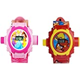 Angry Bird & Princess Projector Watch For Boys & Girls