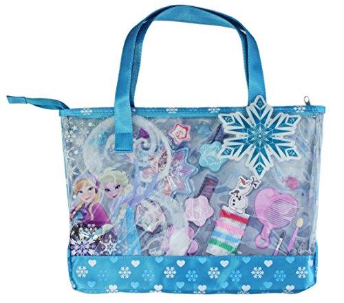 Markwins Disney Frozen Die Eiskönigin Geschenk-Set, 1er Pack (Make-Up und Nagellack auf Wasserbasis, Schmuck)