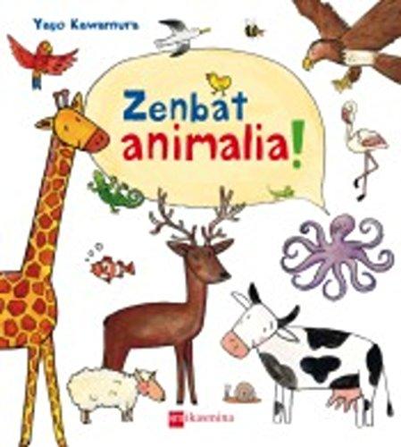 Zenbat animalia! (Libros de cartón) por Yayo Kawamura