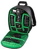 Riva Kamera Reise Rucksack Case Schutz Tasche Bag für SLR, Objektive und Zubehör in Schwarz für Sony Cybershot DSC-HX400V