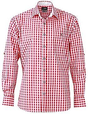 James & Nicholson - Herren Hemd im Trachtenlook