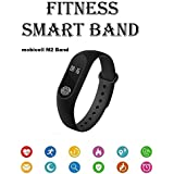Apple IPhone 7 256GB Compatible M2 Smart Fitness Band Wrist Band With Heart Rate Sensor/Pedometer/Sleep Monitoring Functions By Mobicell
