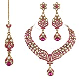 I Jewels Traditional Gold Plated Kundan ...