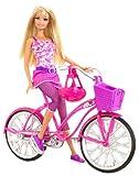 Mattel T2332-0 - Barbie Glam Fahrrad, Puppe und Zubehör