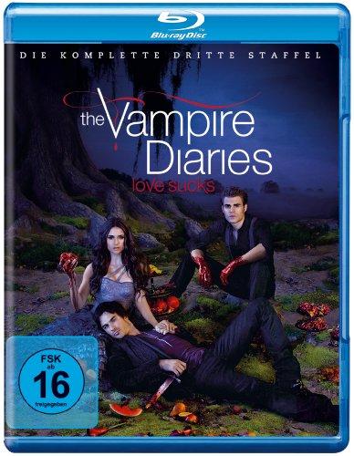 The Vampire Diaries - Die komplette dritte Staffel (4 Blu-rays) [Blu-ray] - Vampire Vier Diaries-staffel