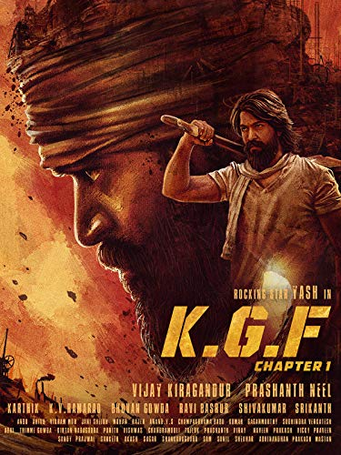 K.G.F: Chapter 1 (Hindi), used for sale  Delivered anywhere in Ireland