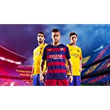 Spirit Of Sports - Lionel Messi,Neymar,Luis Suarez - Spirit Of Sports Collection - Medium Size Premium Quality Unframed Wall Art Print On Canvas (10 Inches X 18 Inches) For Home And Office Interior Decoration By Tallenge