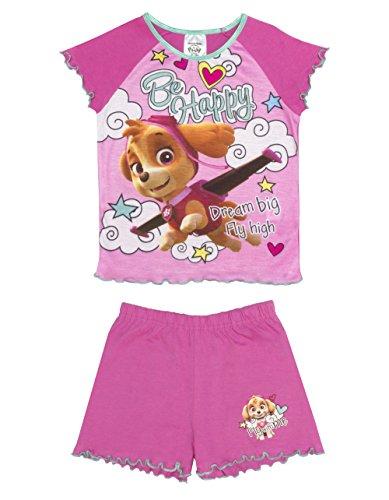 Cartoon Character Products Mädchen Paw Patrol Pyjama Short Set, 18 Monate - 5 Jahre - 18-24 months/92 cms - Kinder Mädchen Short Pj
