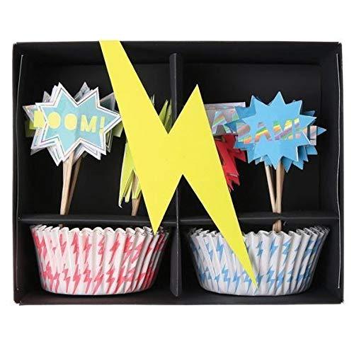 Super Hero Cupcake-Kit -