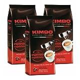 3x Kaffee gemahlen Kimbo Caffé 'Espresso Napoletano', 250 g