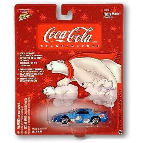 Johnny White Lightning Coca-cola 1997 Chevy Camaro Racer by Johnny Lightning