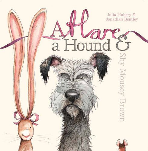 A hare, a hound and shy Mousey Brown