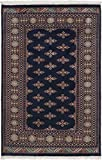 Nain Trading Pakistan Buchara 2ply 192x121 Orientteppich Teppich Dunkelgrau/Dunkelblau Handgeknüpft Pakistan